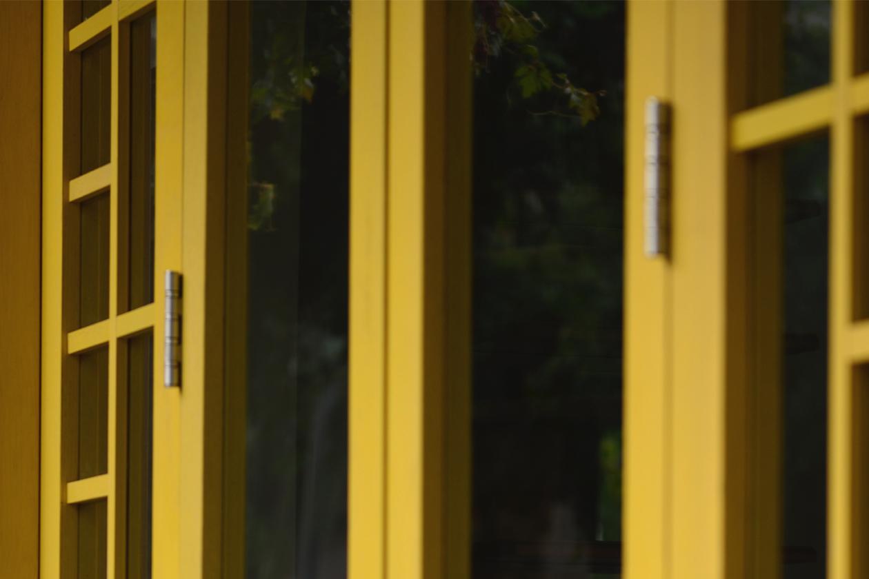 yellow window - ethno chic