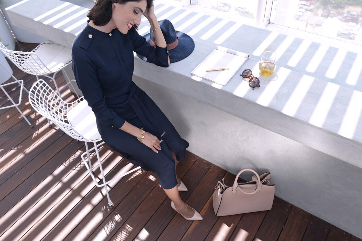 eight30 blue dress MICHAEL KORS h.stern