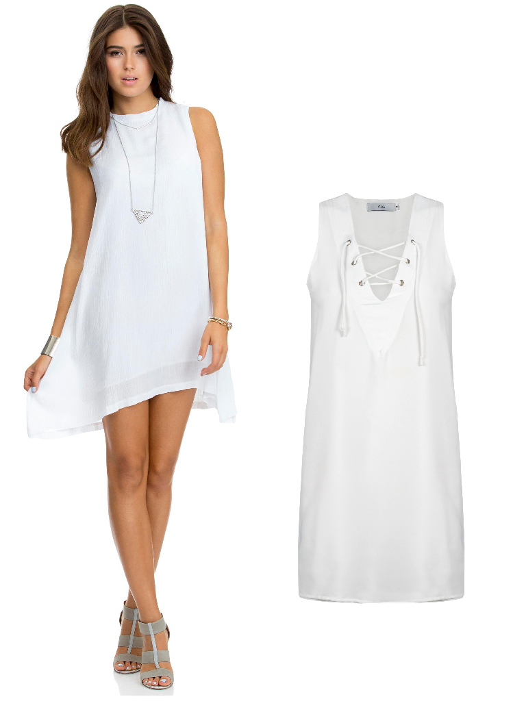 eight30 - vacation - white dresses