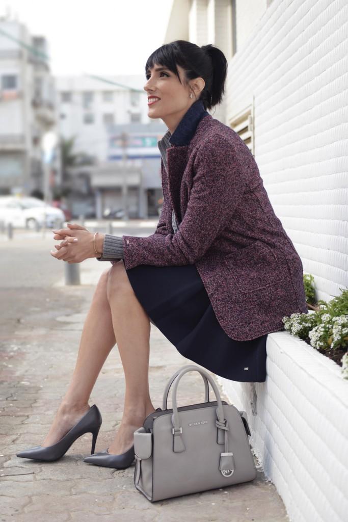 EIGHT30 - tommy hilfiger sweater tweed jacket - michael kors - zara - h.stern -