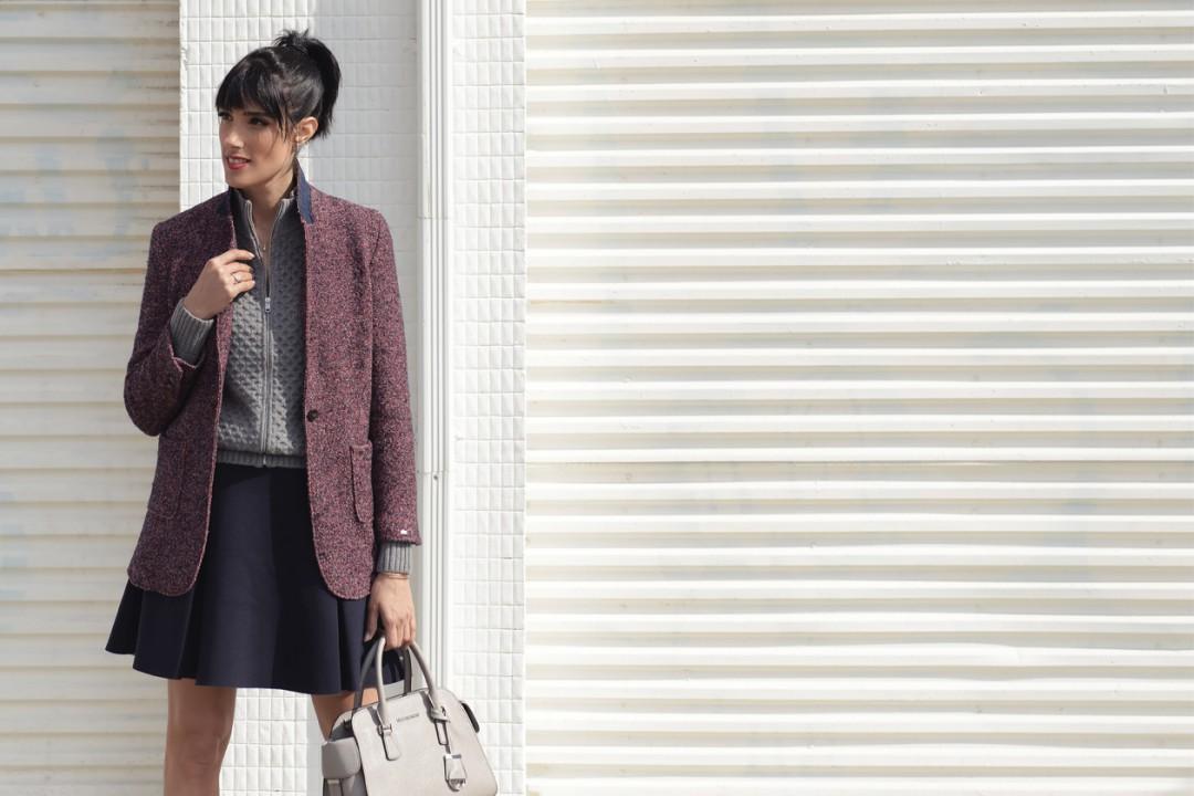EIGHT30 - tommy hilfiger sweater tweed jacket - michael kors - zara - h.stern