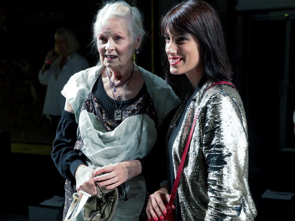 EIGHT30 - MAC cosmetics - backstage - paris fashion week - ss17 - vivienne westwood