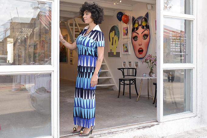 eight30 - artemisia - limor zohar shavit - art gallery - ella luna - dior - castro - zadig & voltaire