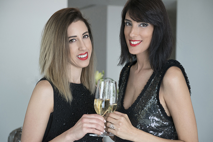 eight30 - chanel cosmetics makeup - libre  libre collection - Holiday 2016 - Salon Lishe Beauty Boutique - h.stern - the ritz carlton herzliya - Moët & Chandon Champagnes - New Year's Eve Party