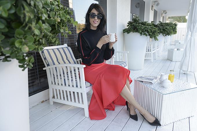 eight30 - kochvit akunis - Dani Veenstra - Portay - H.Stern - hotel shalom tel aviv - hot red - red trend 2017