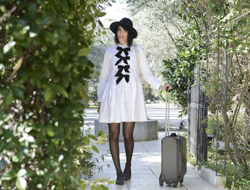 eight30 - Maskit Boutique Hotel in Liman - kipling bag - zara shoes - vacation - getaway - lilach elgrably - dress