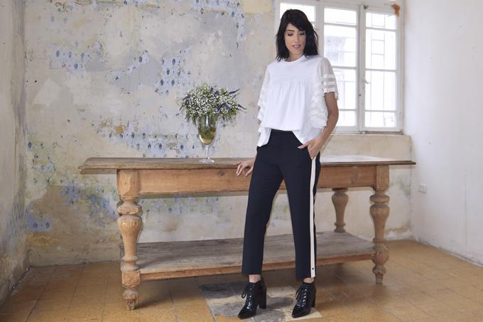 eight30 - fashion blog - israel - tel aviv -  chloe - ss2017 - love story - Chloé Mini Drew Leather Shoulder Bag  - Eau de Toilette - Fragrance - Black pants and white top