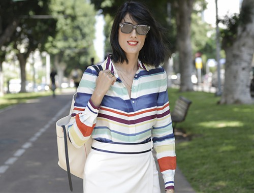 eight30 - dior sunglasses - tommy hilfiger - celine bag - tel aviv street style - zara - liat gilad jewelry