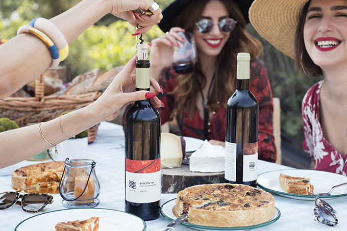 eight30 blog - Galil Mountain Winery  - wine - Sabina Musayev - h.stern - picnic