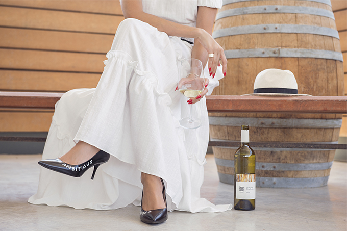 eight30 blog - Galil Mountain Winery  - wine - Sabina Musayev - h.stern - picnic - zara heels
