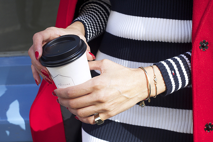 EIGHT30 - tommy hilfiger - london - street style - coffee