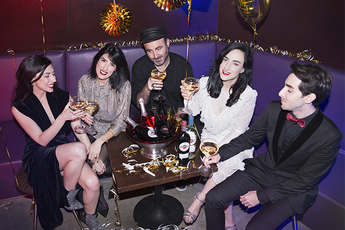 EIGHT30 - martini - akkerman - new year - 2018 - party - gold - h stern - sabina musayev