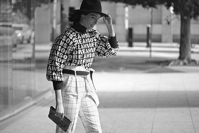 EIGHT30, black & white, tel aviv street style, H&M, mango, marc jacobs,