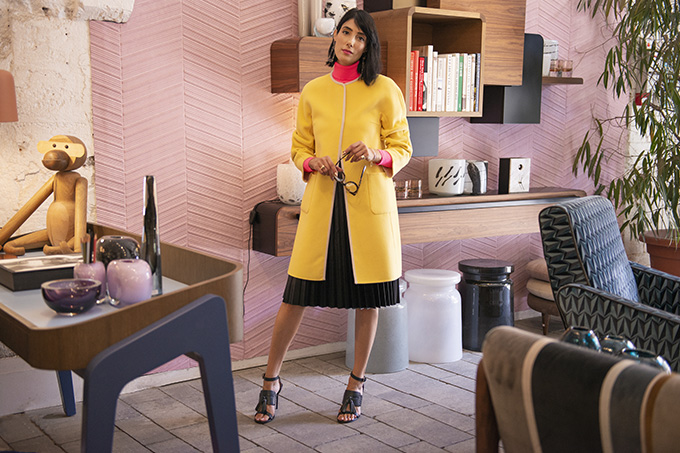 EIGHT30 - AW2019 trands - neon color - street style tel aviv - elemento home design - max mara weekend