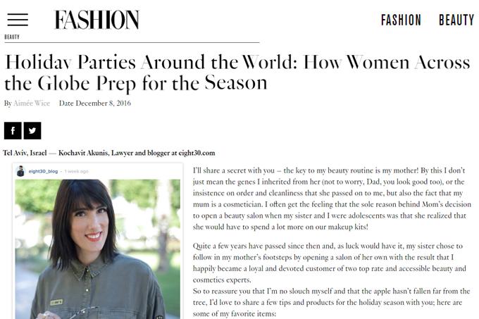 Fashion Canada - eight30 - כוכבית אקוניס