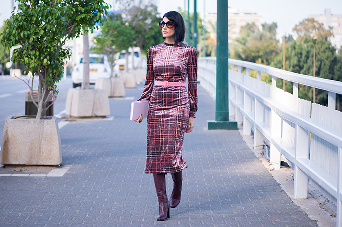EIGHT30 - STUDIO VENDOME - ISABEL GARCIA DRESS - TEL AVIV STREET STYLE - AW2018