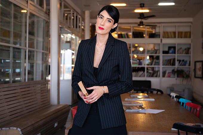 EIGHT30 - STUDIO VENDOME -comme il faut SUIT -DIOR HEELS - TEL AVIV STREET STYLE - AW2018