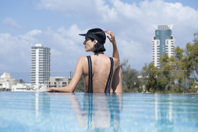 EIGHT30 glick swimwear POLI HOUSE HOTEL TEL AVIV STUDIO SCHERMANN via rothstein ZARA BURBERRY