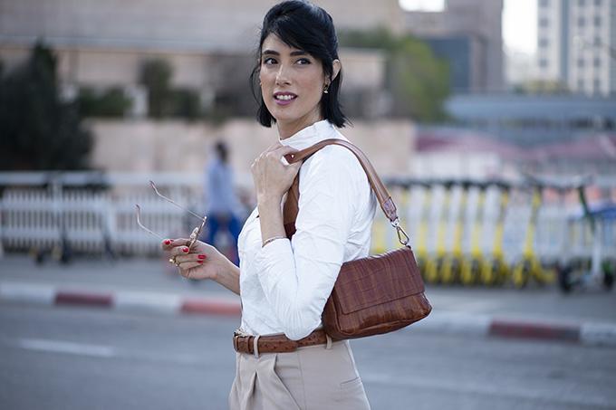 Spring \ Summer 2020 TREND REPORT EIGHT30 Maria Berman Daniella Lehavi bags Burberry trench coat Tel Aviv street style 2