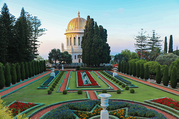EIGHT30 HAIFA CITY TOUR bahai gardens 2